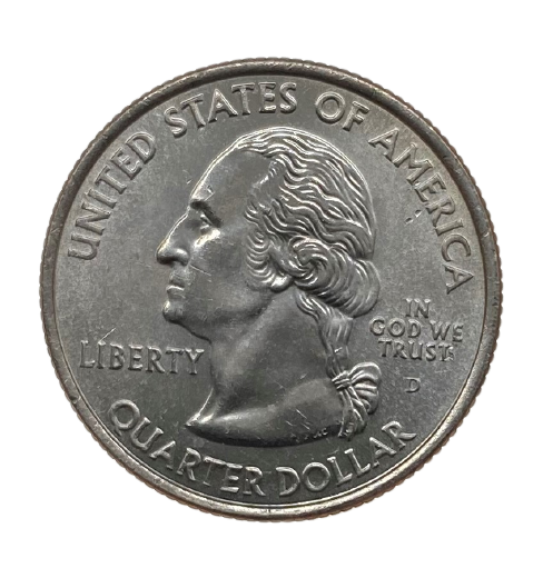 Moeda Quarter Dollar Alabama 2003 P FC