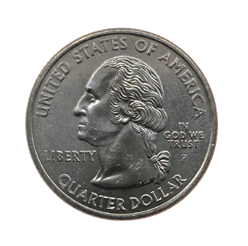 Moeda Quarter Dollar Ohio 2002 P FC