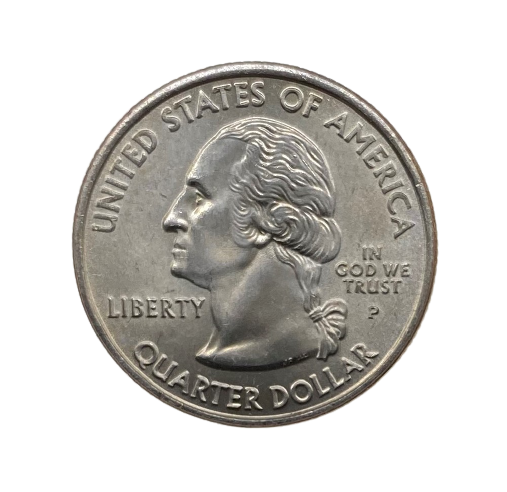 Moeda Quarter Dollar Rhode Island 2001 P FC