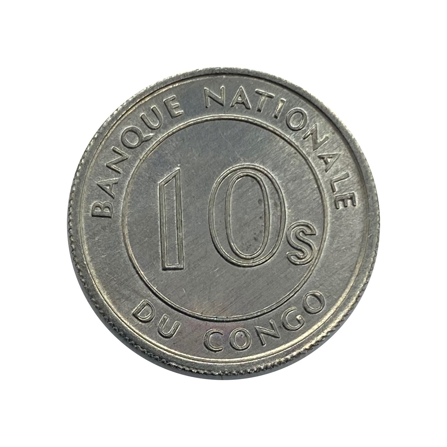 Moeda República do Congo Fauna 10 Sengi 1967 FC