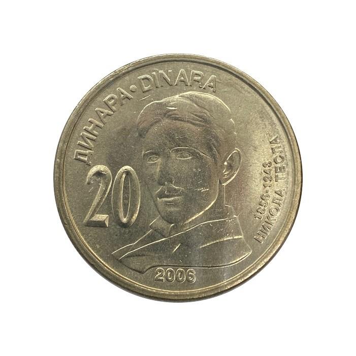 Moeda Servia 2006 SOB