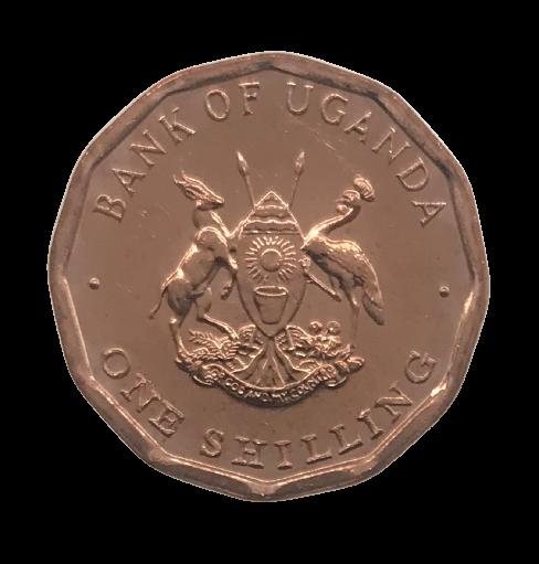 Moeda Uganda 1 Shilling 1987 FC