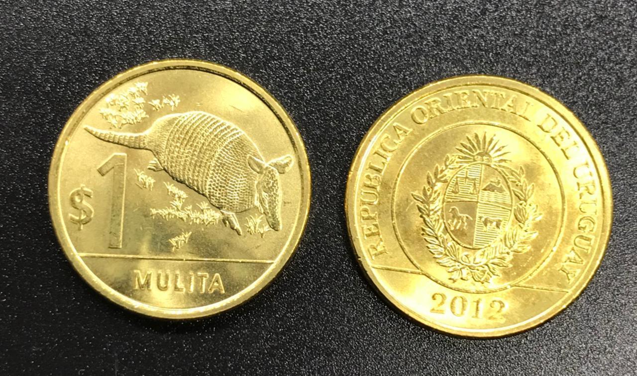 Moeda Uruguai 1 peso (2011-2019)