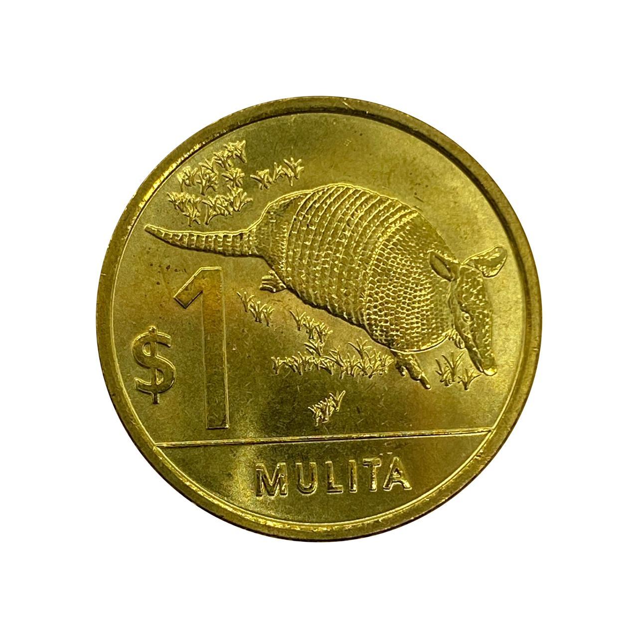 Moeda Uruguai Fauna 1 Peso 2012 FC