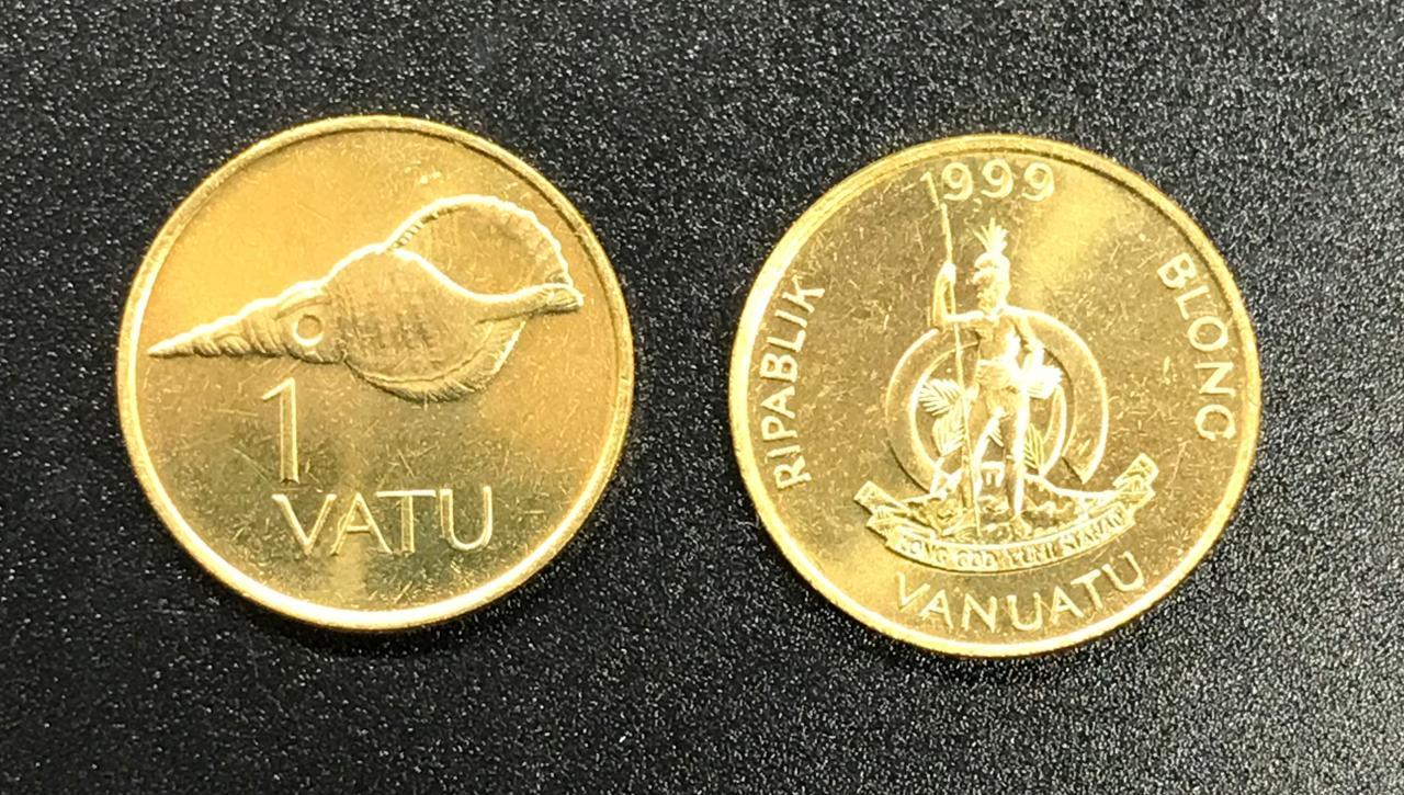 Moeda Vanuatu 1 vatu (1983-2002)