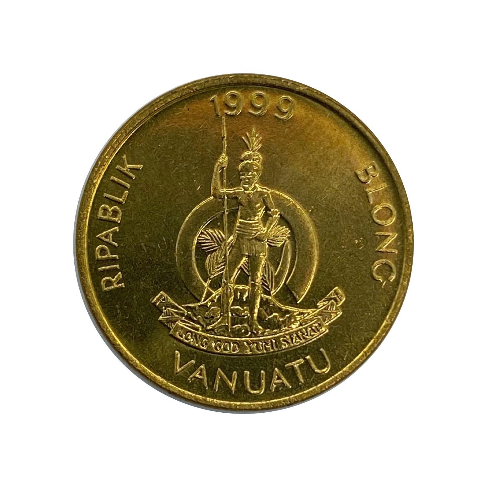 Moeda Vanuatu 1 Vatu 1999 FC