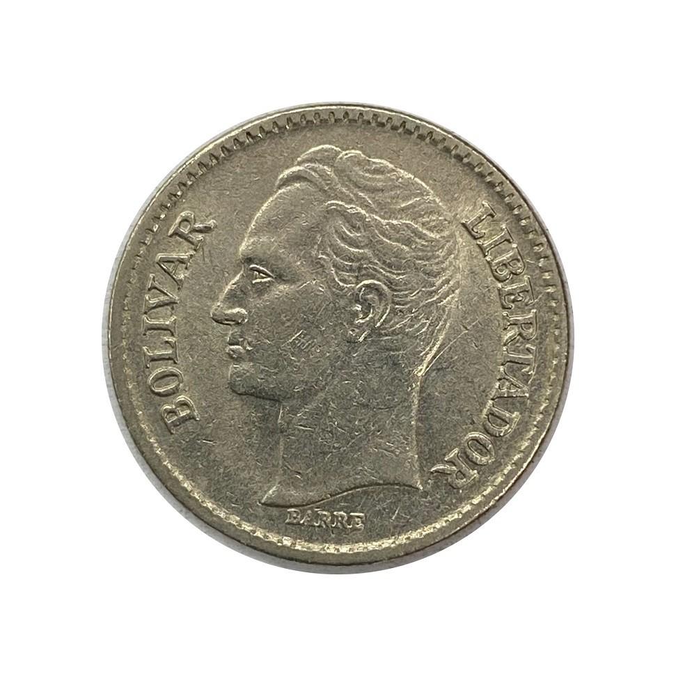 Moeda Venezuela 25 Centavos MBC