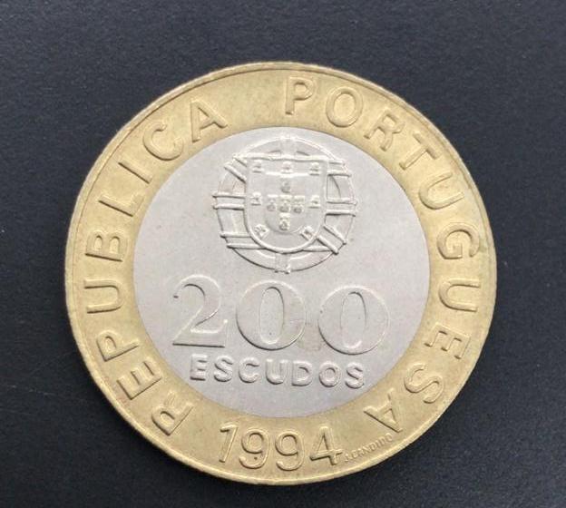 Moedas Portugal Comemorativa Capital Europeia de Cultura Lisboa 1994