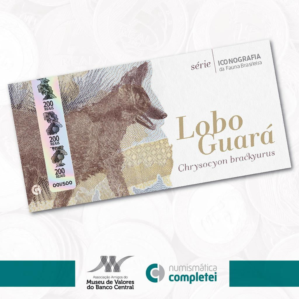 [PRÉ-VENDA] Folder Lobo-Guará