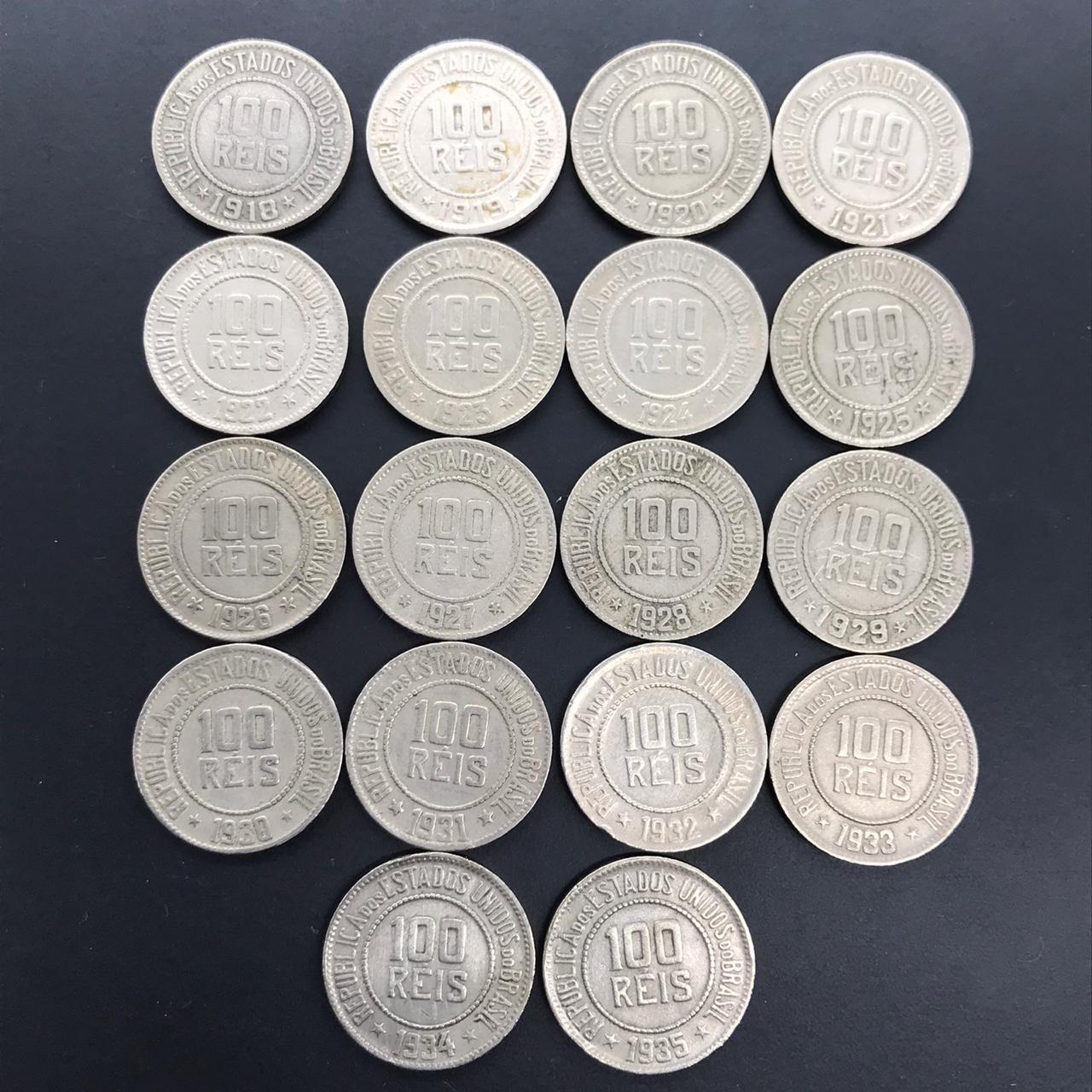 SERIE 100 REIS 1918-1935