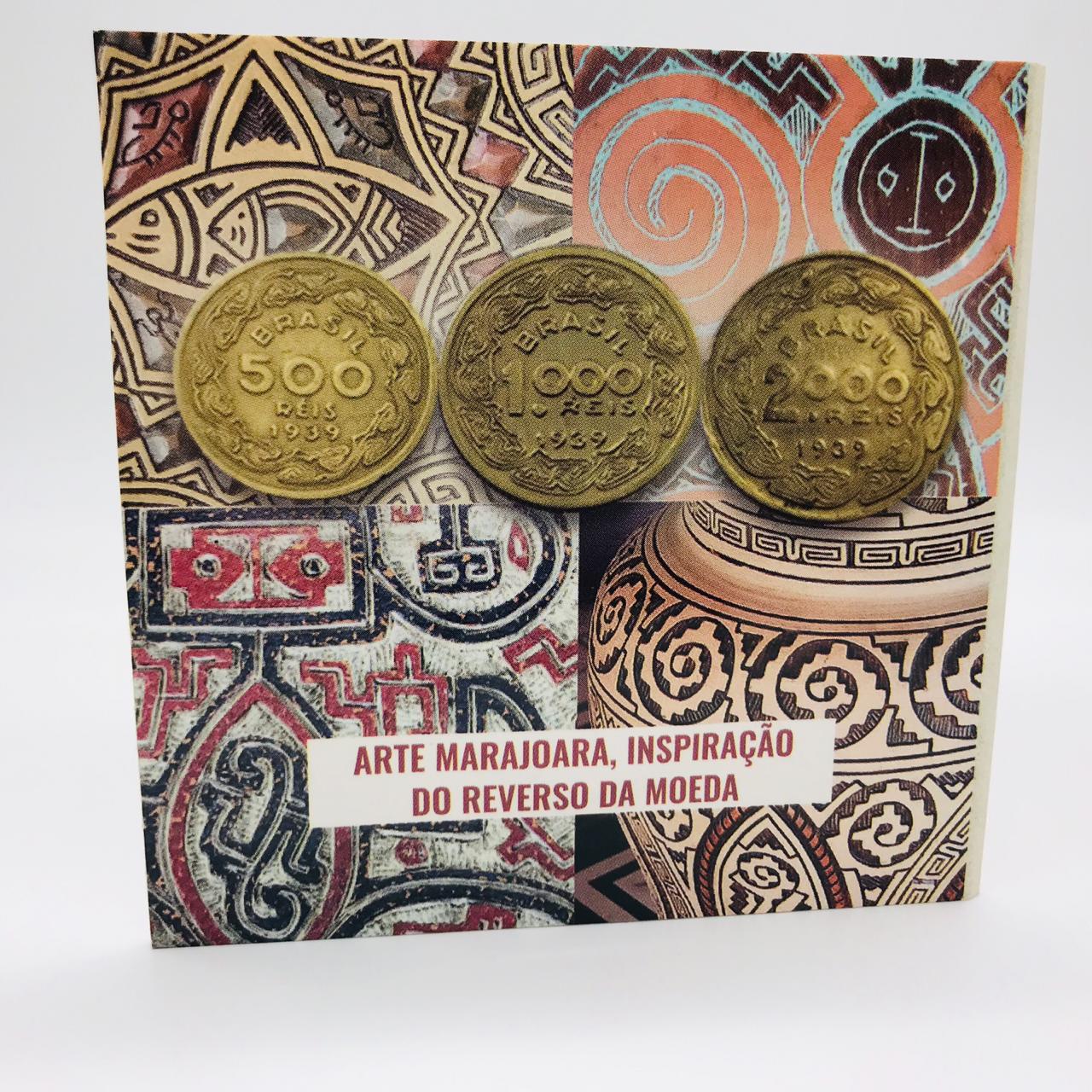 Série Ilustres 1939 - moedas com folder