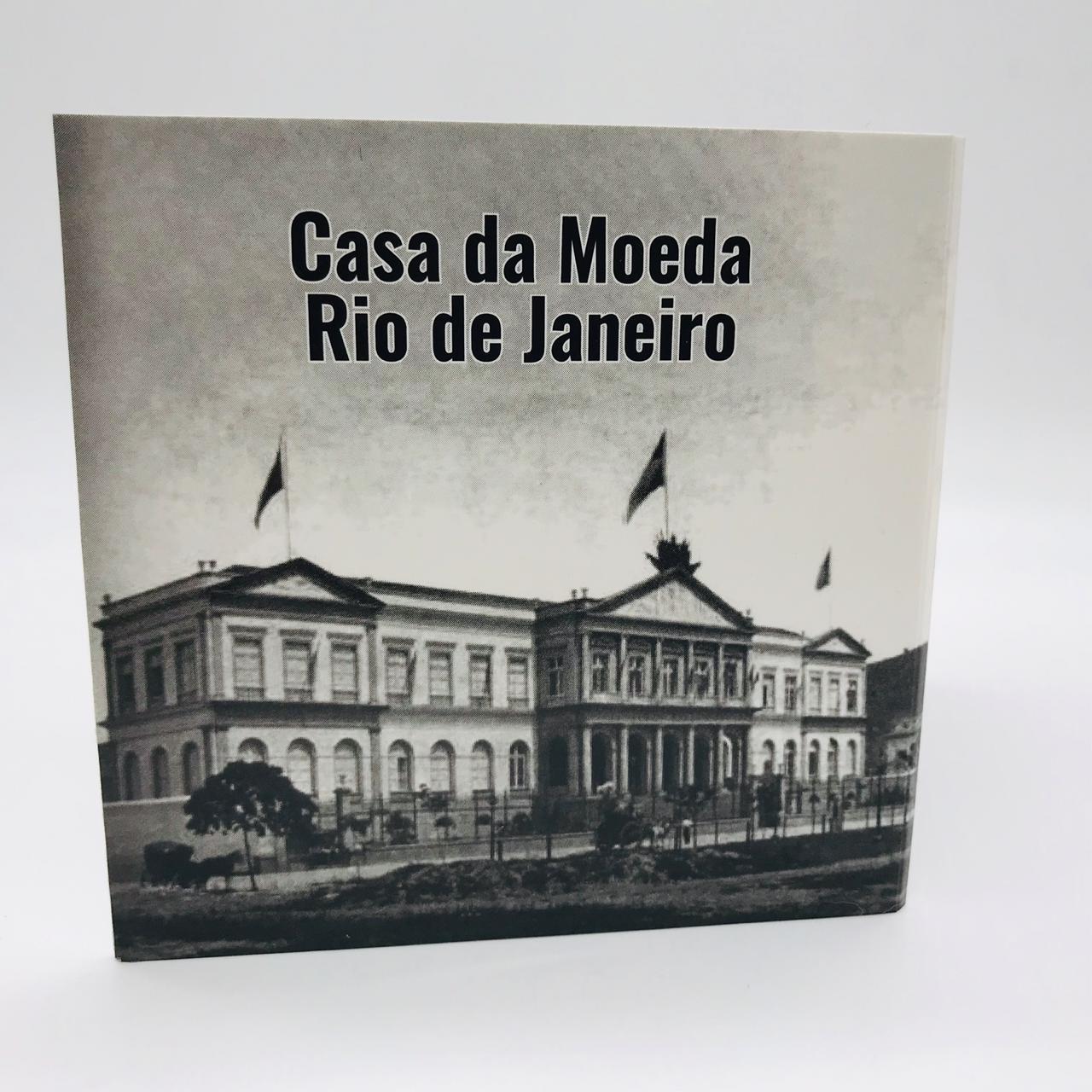 Série Réis República com 3 Moedas MBC + cartela