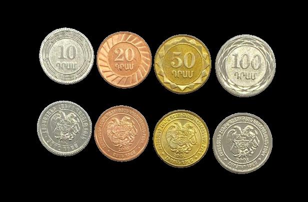 Set de Moedas Armênia SOB