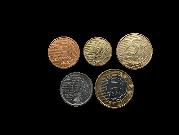 Set de moedas do Real  2014 FC