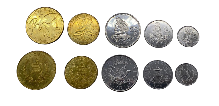 Set de Moedas Guatemala fc