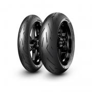 Combo de Pneus Pirelli Diablo Rosso Corsa II 120/70-17 + 200/55-17