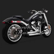 Escapamento Vance & Hines Shortshots Staggered - Cromado - Softail 2018 - 2020