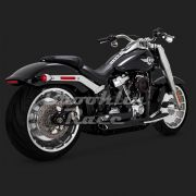 Escapamento Vance & Hines Shortshots Staggered - Preto - Softail 2018 - 2020