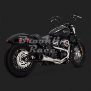 Escapamento Vance & Hines Upsweep 2 into 1 - Stainless - Softail 2018 - 2020