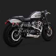 Escapamento Vance & Hines Upsweep 2 into 1 - Stainless - Sportster 2004 - 2020