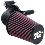 Filtro De Ar Intake K&n Preto 63-1125 Harley Davidson 01-17