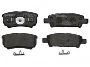 Kit Pastilha Freio Tras Jeep Compass Até 2017 - Lacer Mitsub P54034