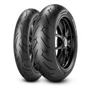 Par Pneu Cb 500 Xj6 160/60r17 120/60r17 D. Rosso Ii Pirelli