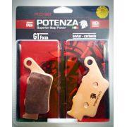 Pastilha Freio Potenza Ptz213gt Honda Cb 500 97-05 Traseira