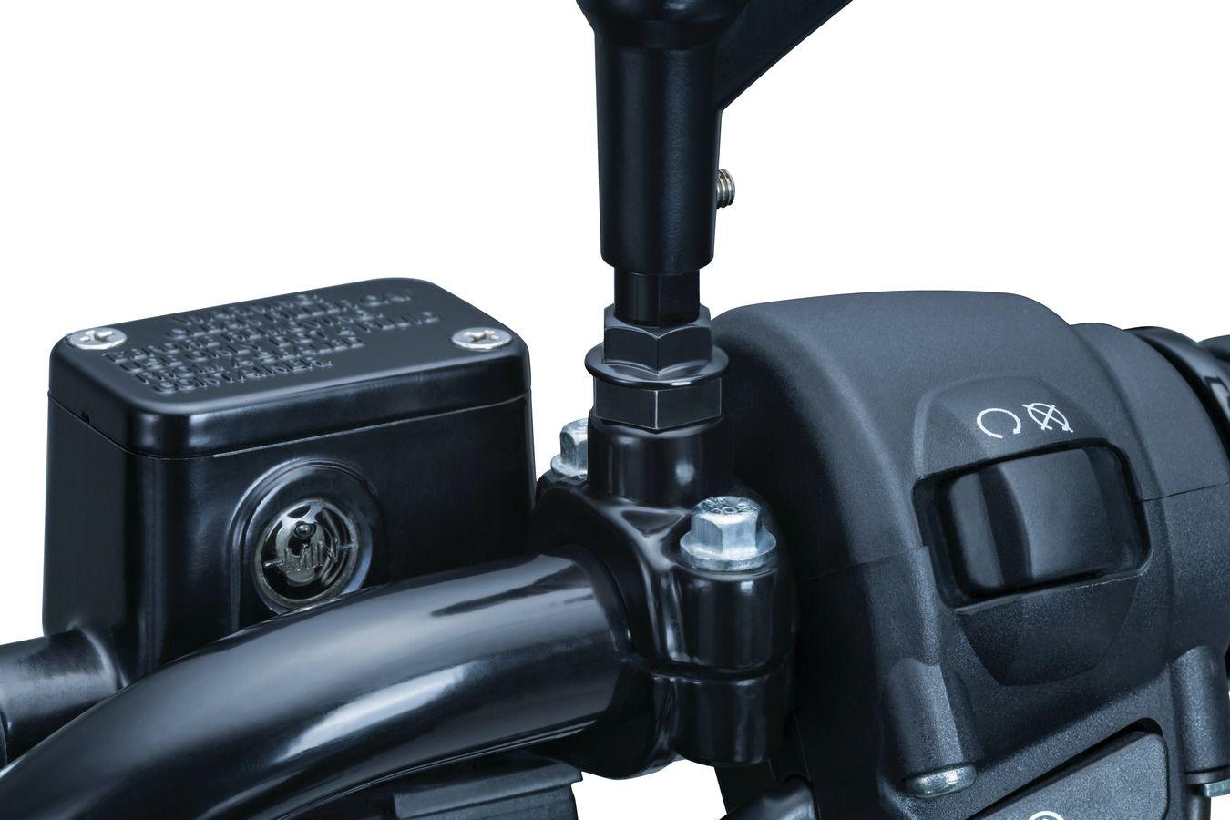 Adaptador Cromado para Retrovisores Modelos Kuryakyn das Motocicletas Triumph