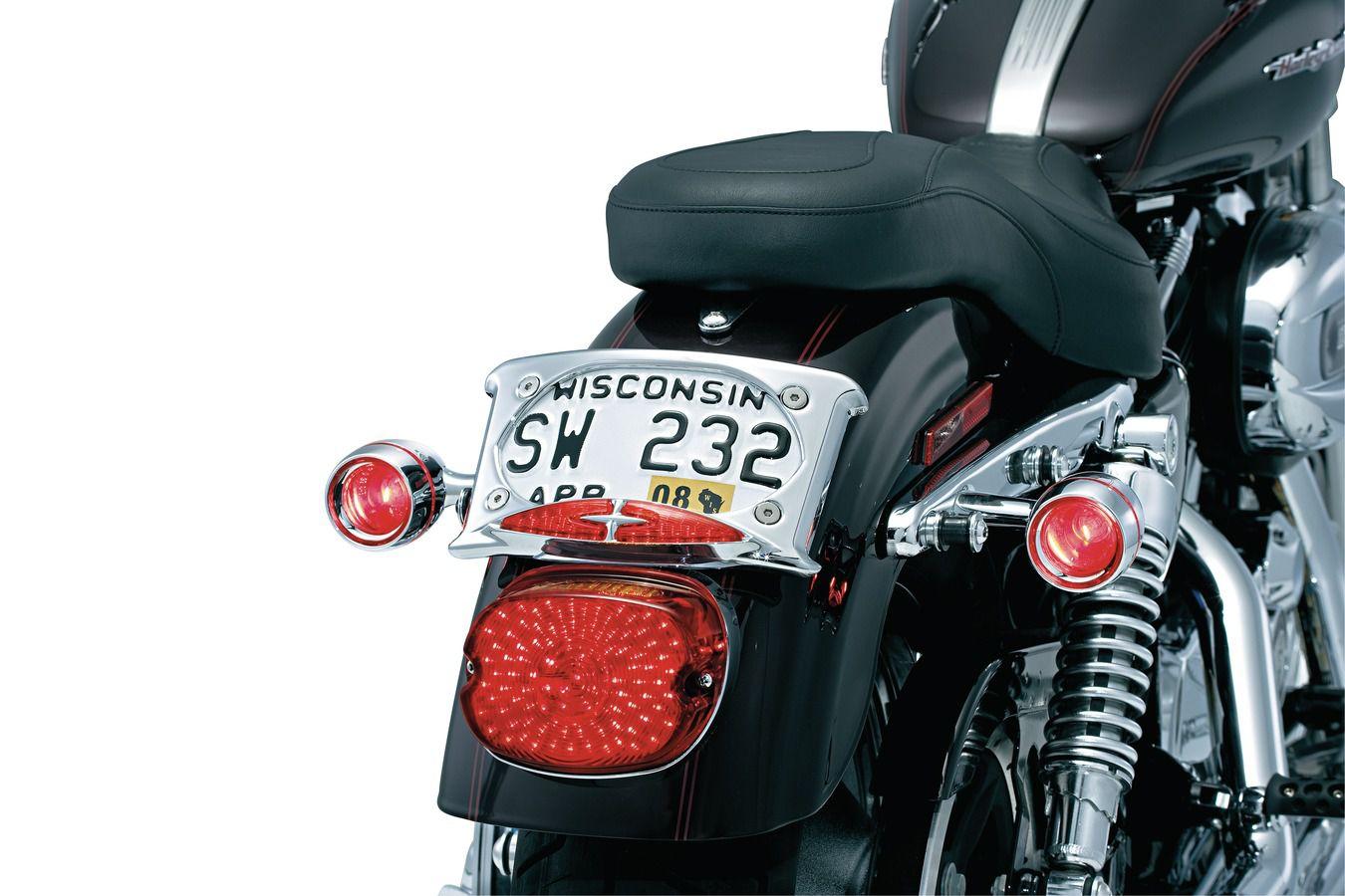 Aro Preto Brilhante Com Lente Vermelha Para Pisca Bullet Original Harley Davidson - Kuryakyn Holdings Inc