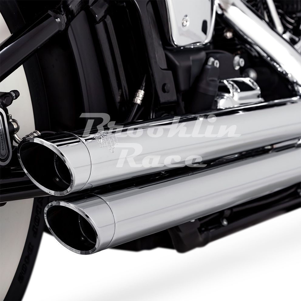 Escapamento Vance & Hines Big Shots Staggered - Cromado - Softail 2018 - 2020