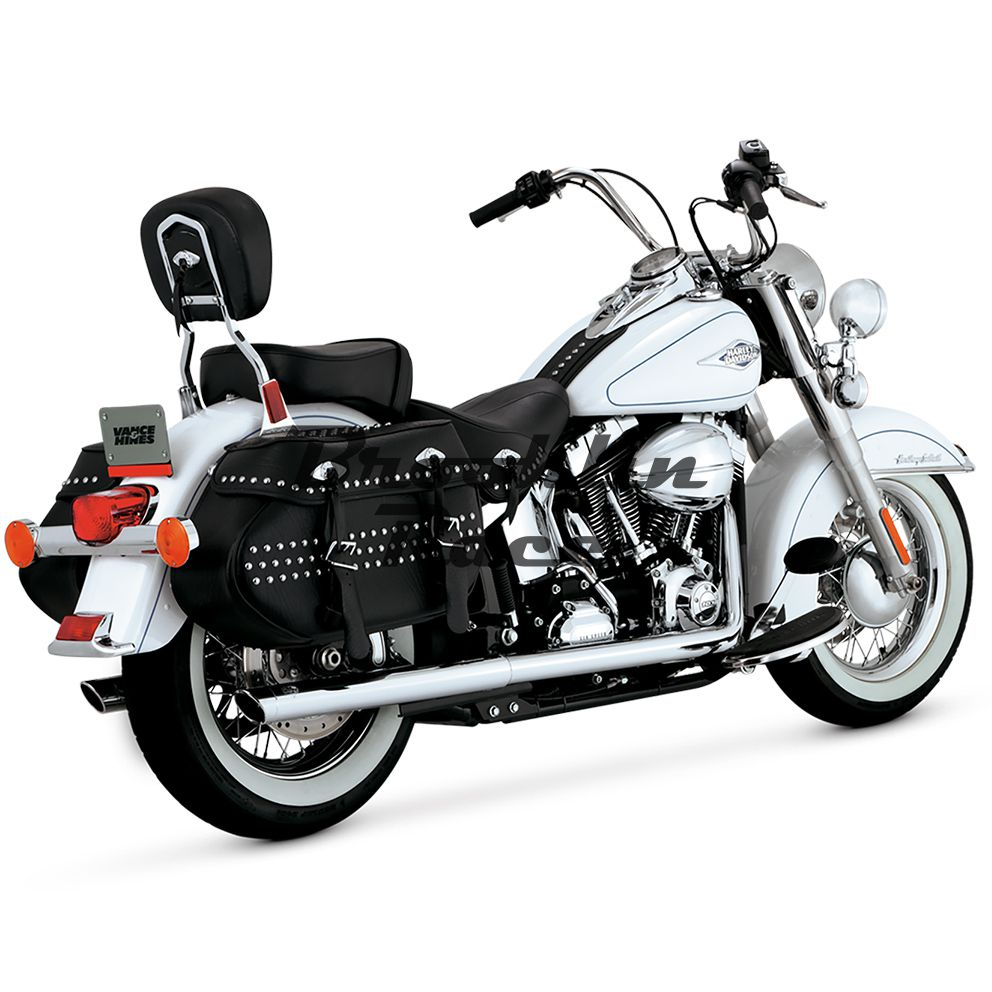 Escapamento Vance & Hines - Softail Duals - Cromado - Softail 2012 - 2017