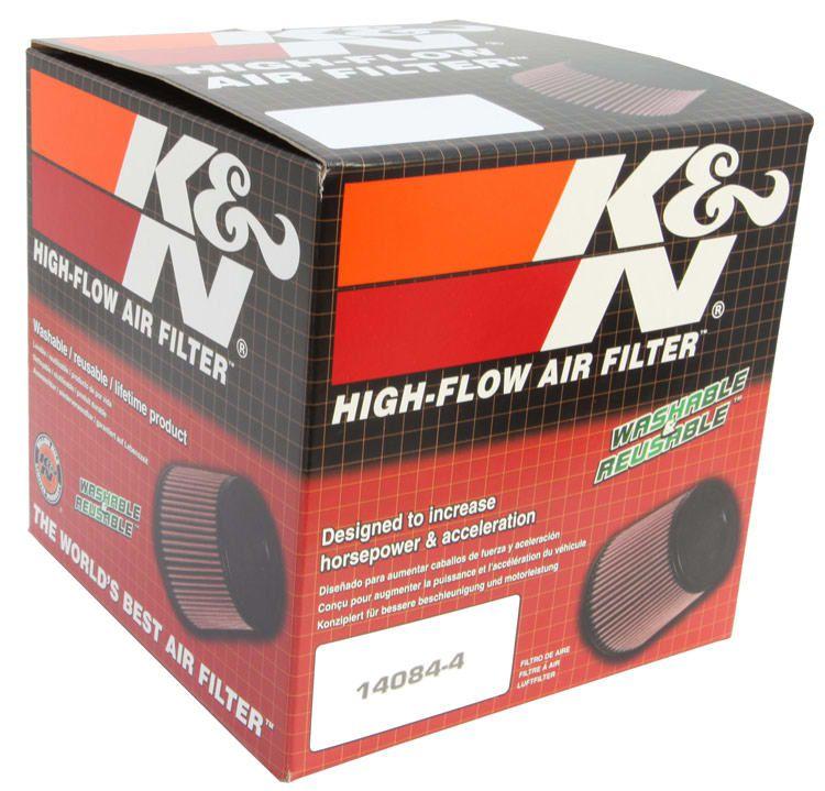 Filtro Ar K&n Cônico Universal Vermelho K N Rr-3001