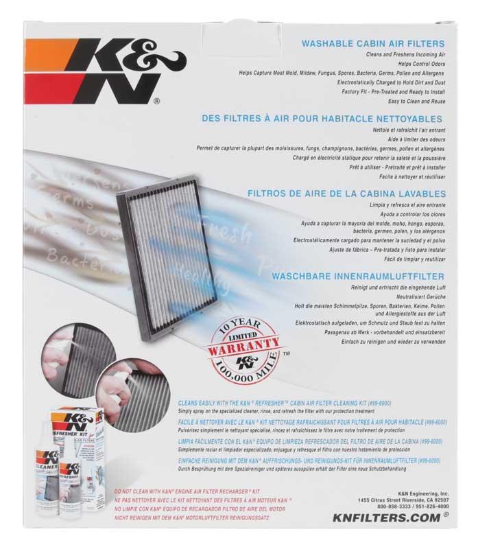 Filtro De Ar Condicionado Cabine K&n Toyota, Lexus E Subaru