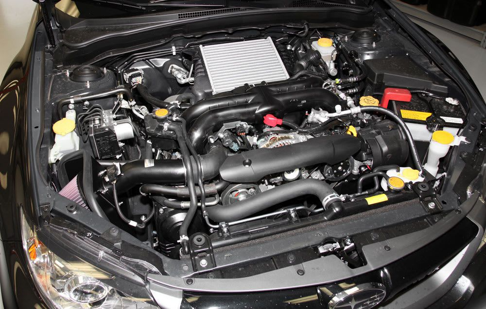 Filtro De Ar Intake K&n - Subaru Impreza Wrx-  69-8004ttk