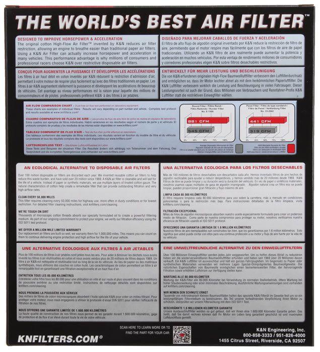 Filtro De Ar K&n Lavável Honda Gold Wing 1800 01-17 Ha-1801