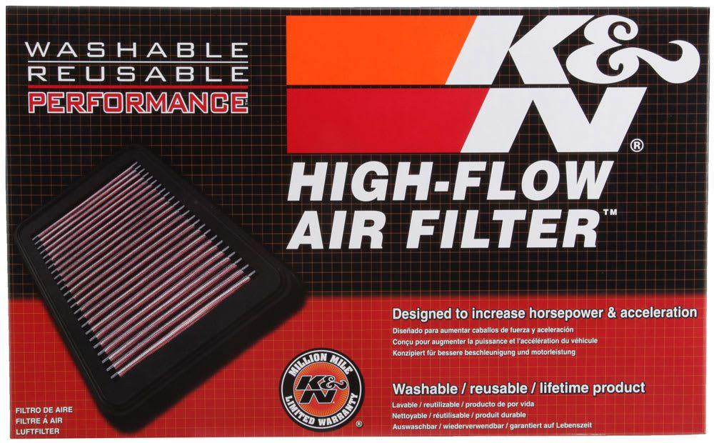 Filtro De Ar K&n Lavável Yamaha Tdm900 02-14 Ya-9002