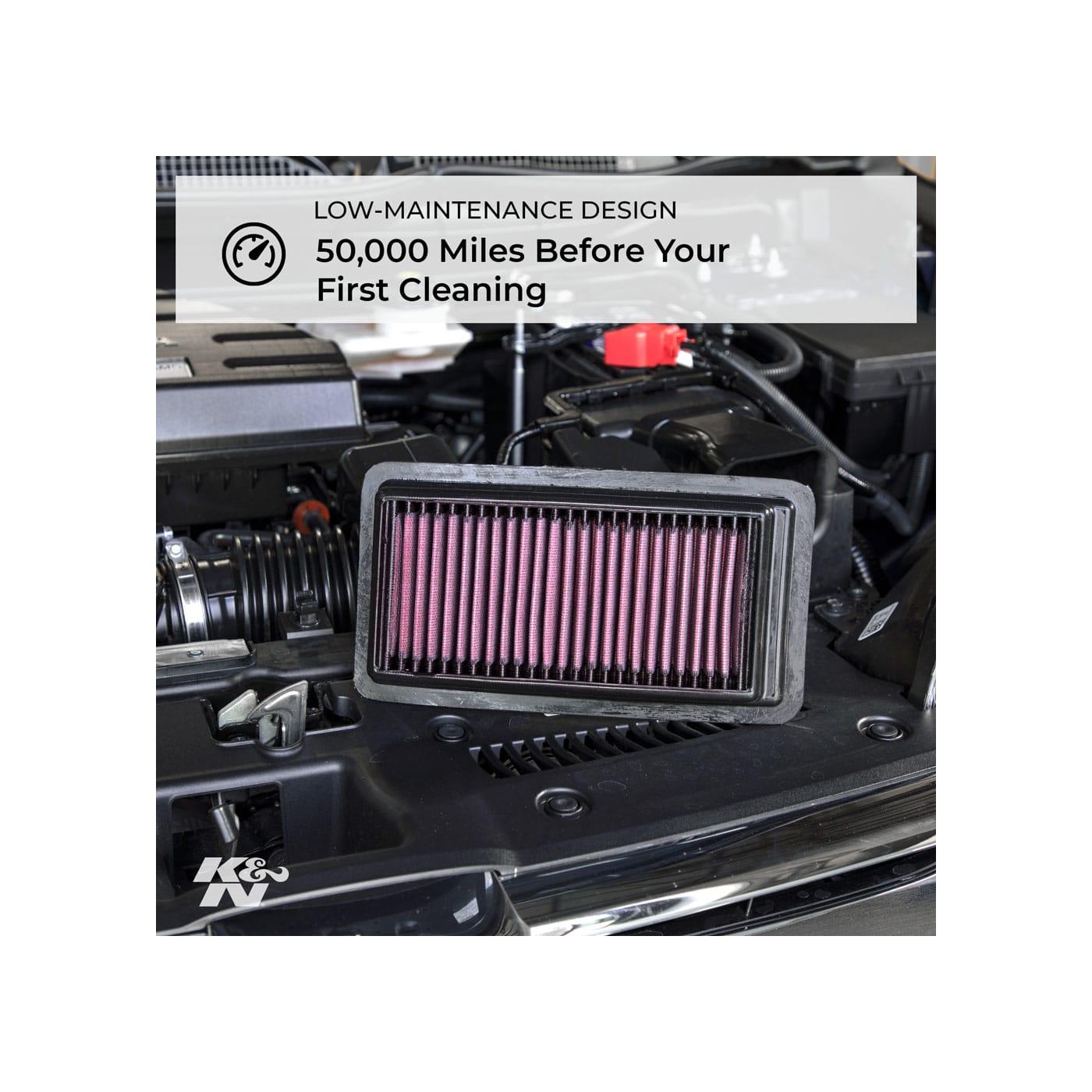 Filtro De Ar K&N 33-2155 Chevrolet Tracker Suzuki Escudo Grand Vitara XL-7 Mazda Proceed