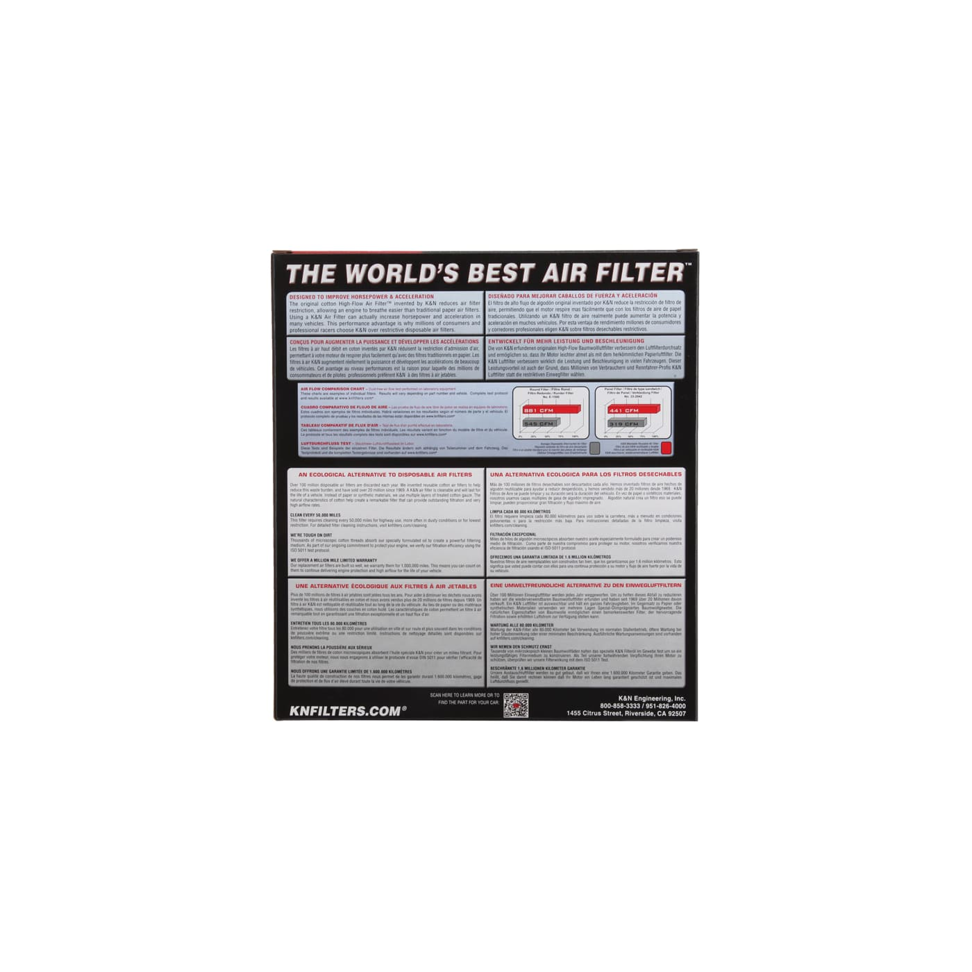 Filtro De Ar K&N 33-2346 Hyundai Azera Grandeur Sonata