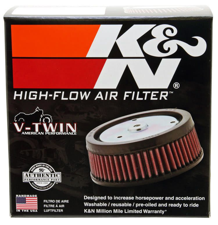 Filtro De Ar Kn Screaming Eagle Harley Dyna/softail/touring