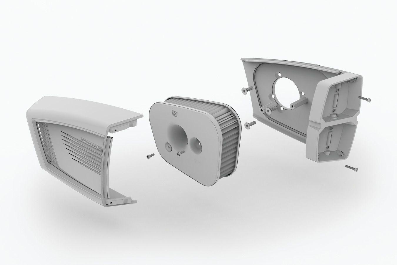 Filtro de Ar Modelo Hypercharger ES - Cromado - Acelerador Eletrônico p/ Touring 2017 - 2019