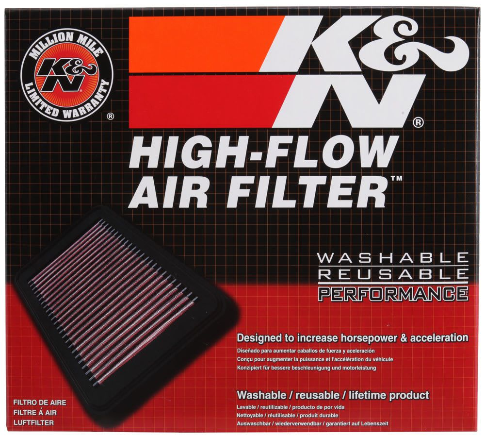 Filtro De Ar R 286x203 K&n - Chevrolet Corsa/meriva/ 33-2212
