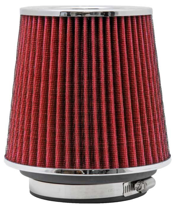 Filtro De Ar Universal K&n Duplo Fluxo Vermelho Rg-1001rd