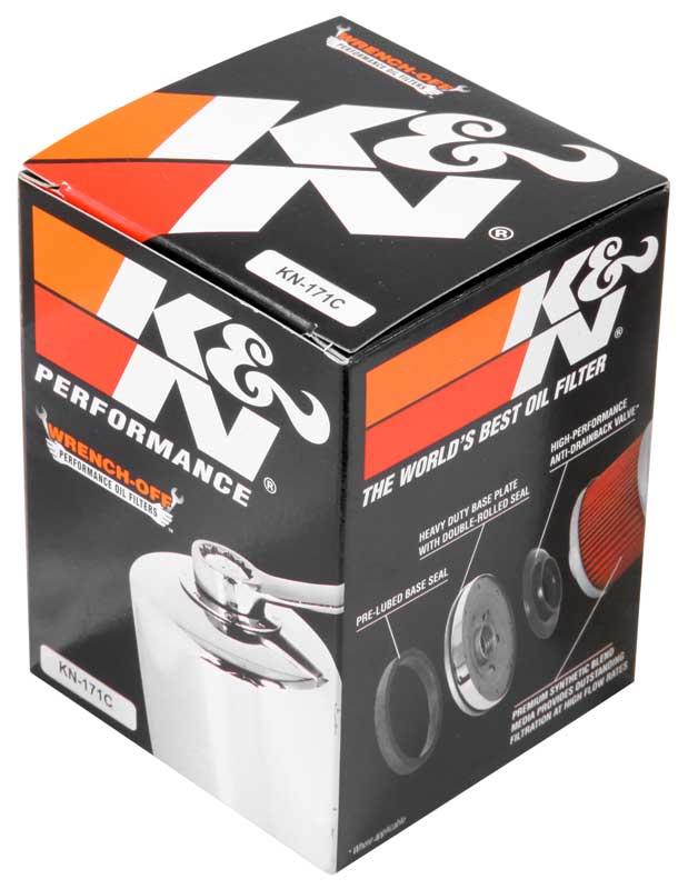 Filtro De Oleo K&n Kn-171c Harley Davidson Softail, Dyna, To