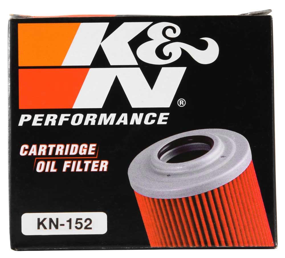 Filtro De Óleo K&n Quadriciclos Can-am Kn-152