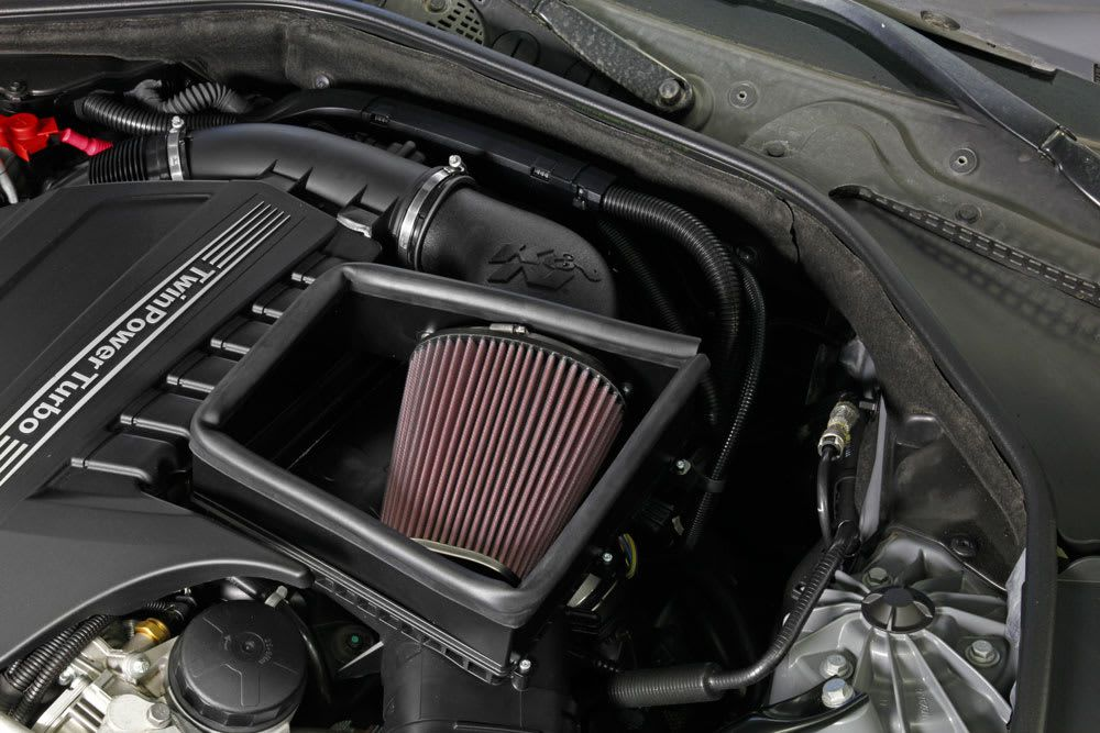 Filtro Intake K&n Bmw 535i 535 I 2011 À 2016