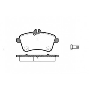 Jogo Pastilha Freio Dianteira Mercedes B200 07 13 Low Metal P50057