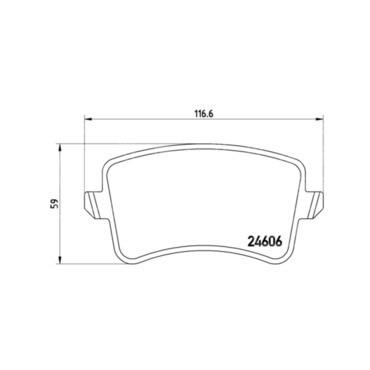 Jogo Pastilha Freio Traseira Audi Q5 2.0t 08 A 17 Low Metal P85099
