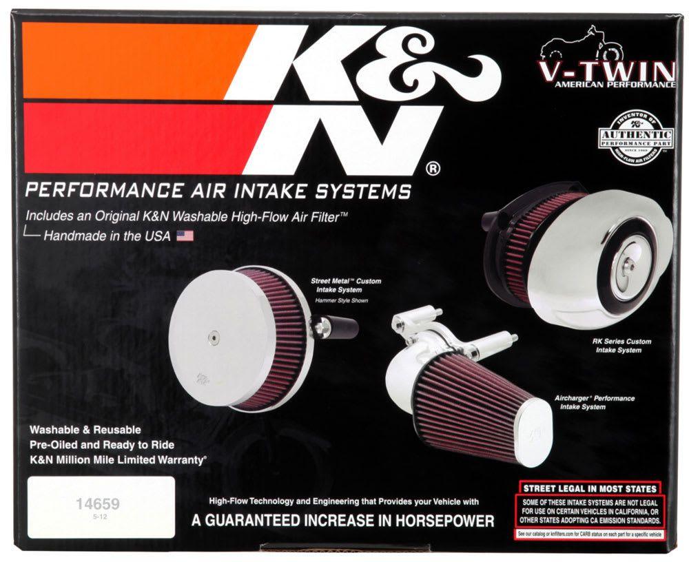 Kit Filtro K&n Intake Rk-3932 Harley Fxsb Breakout