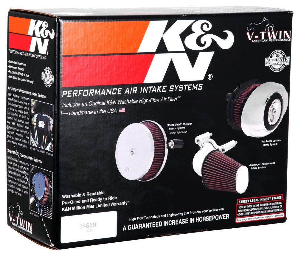 Kit Intake Harley Fld Switchback +7hp Rk-3932
